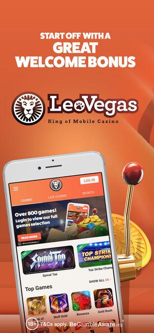 LeoVegas Casino Mobile App Review | JackMobileCasinos