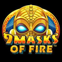 9 Masks of Fire Slot by Microgaming Overview Logo
