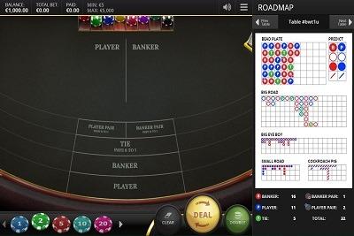 Spiele Baccarat - Punto Banco - Video Slots Online