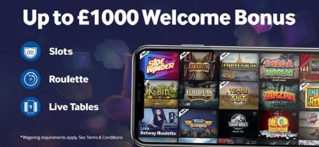 Betway Casino Mobile App Review   JackMobileCasinos