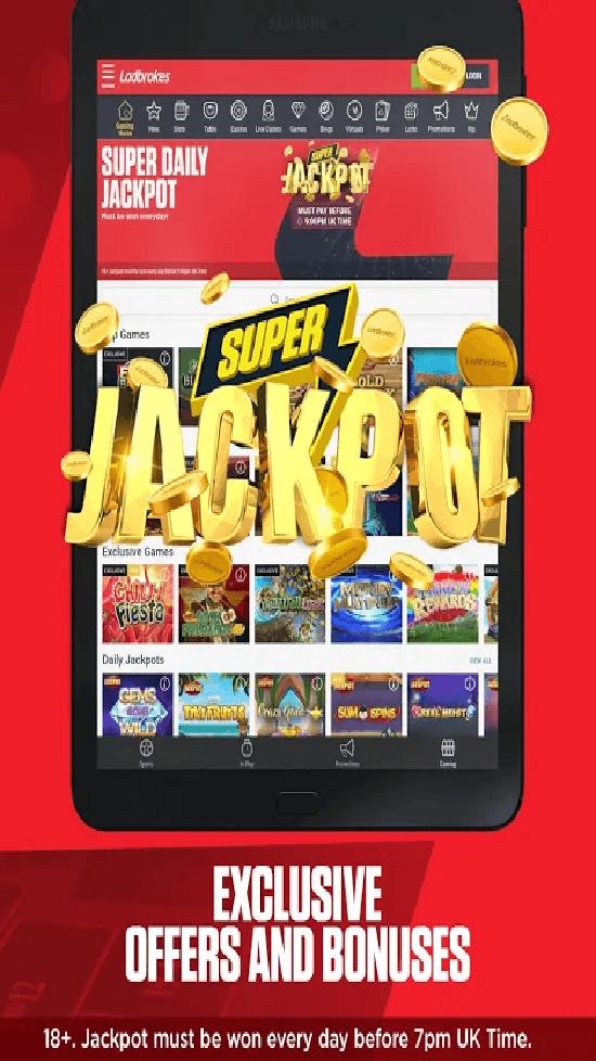Ladbrokes Casino Mobile App Review | JackMobileCasinos