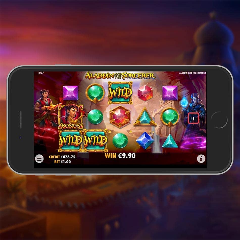 Aladdin And The Sorcerer Slot Machine