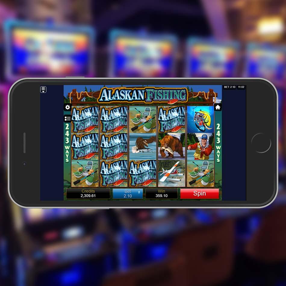 Alaskan Fishing Slot Game Big Win