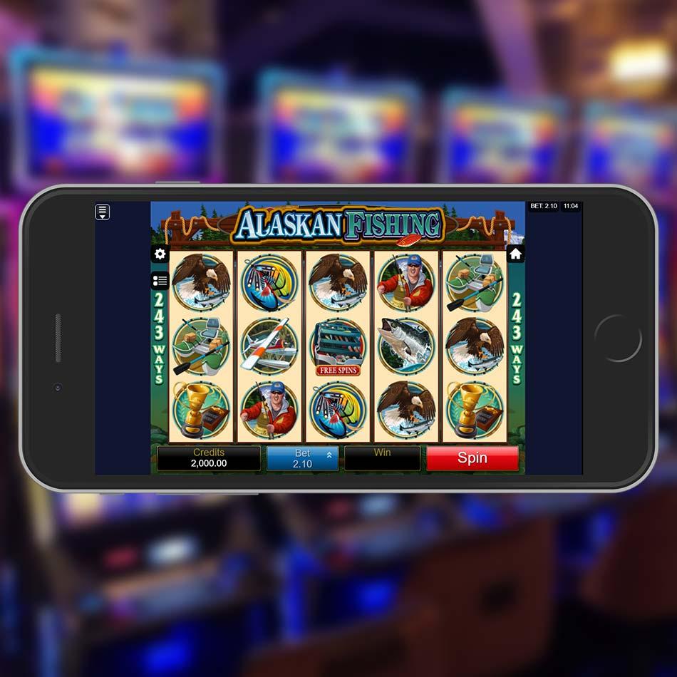 Alaskan Fishing Slot Game Home Page