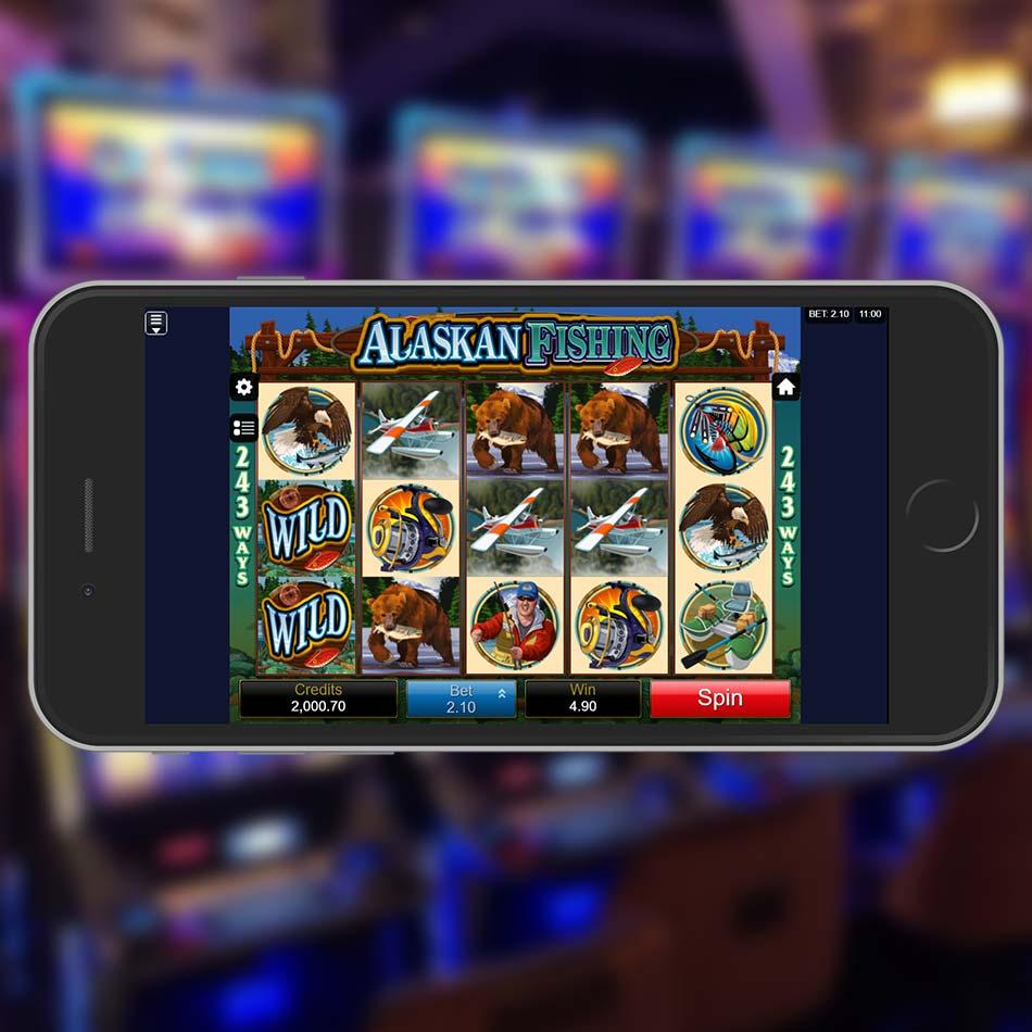 Alaskan Fishing Slot Game Win