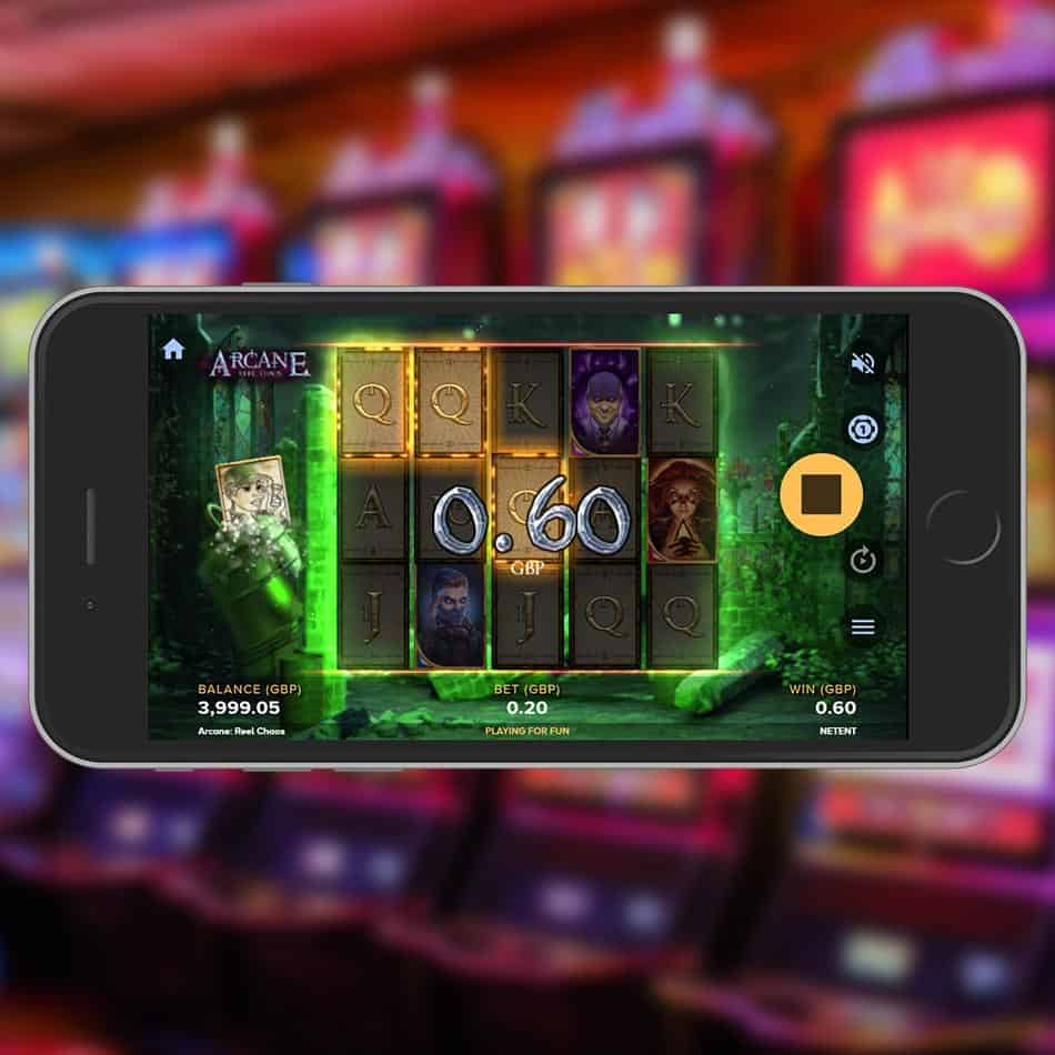 Arcane Reel Chaos Slot Machine Chrono ReSpin Feature