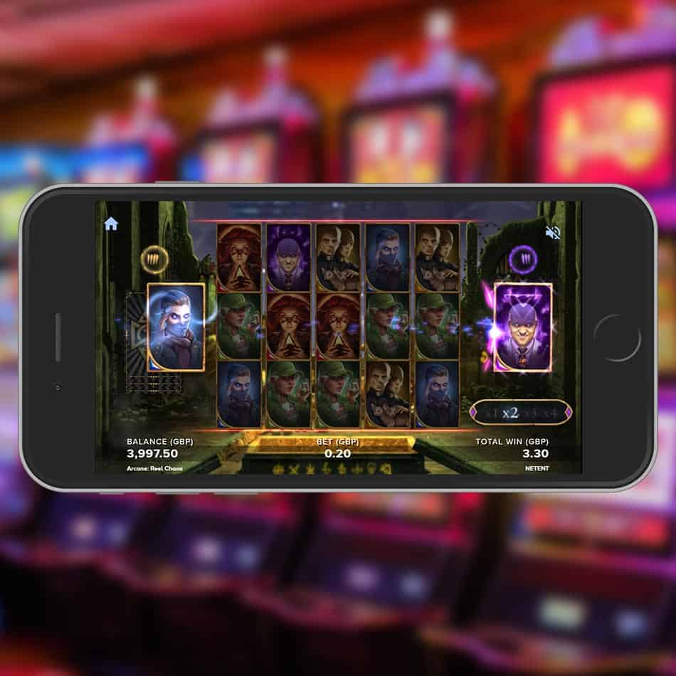 Arcane Reel Chaos Slot Machine Free Spins Battle Feature