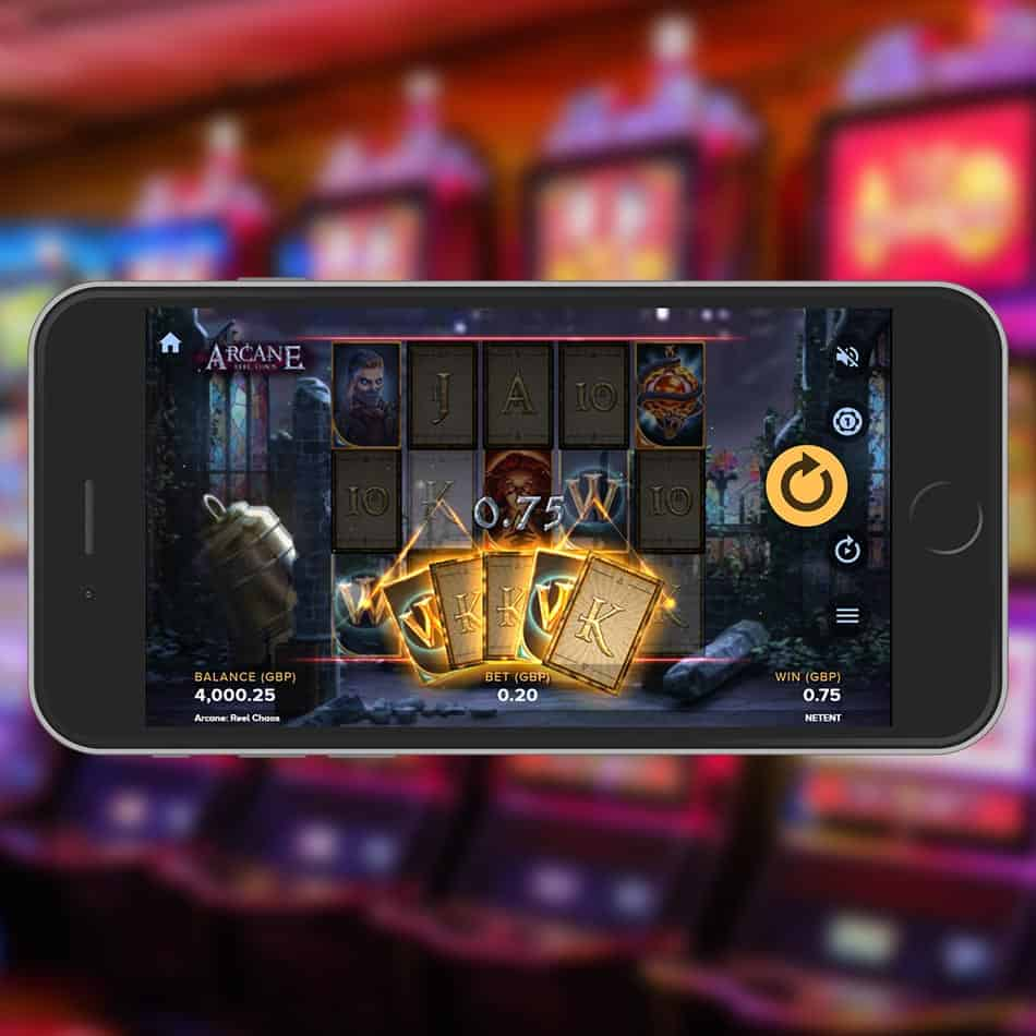 Arcane Reel Chaos Slot Machine Win