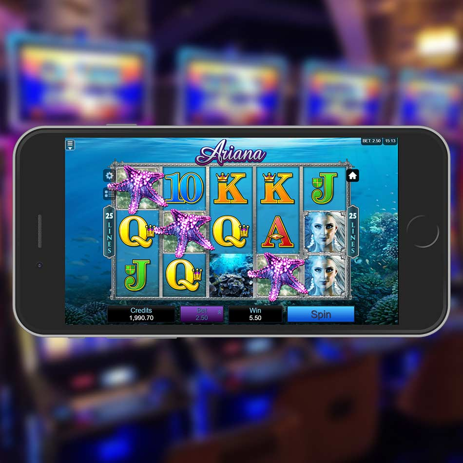 Ariana Slot Machine Free Spins Feature
