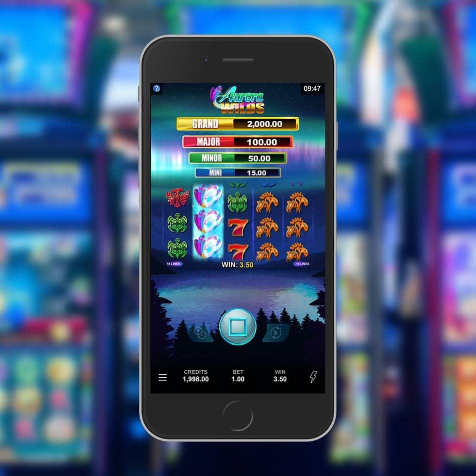 Aurora Wilds Slot Machine ReSpin Feature