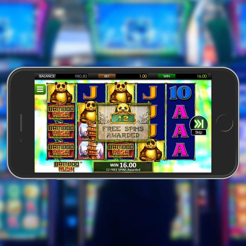 Bamboo Rush Slot Machine Free Spins Feature