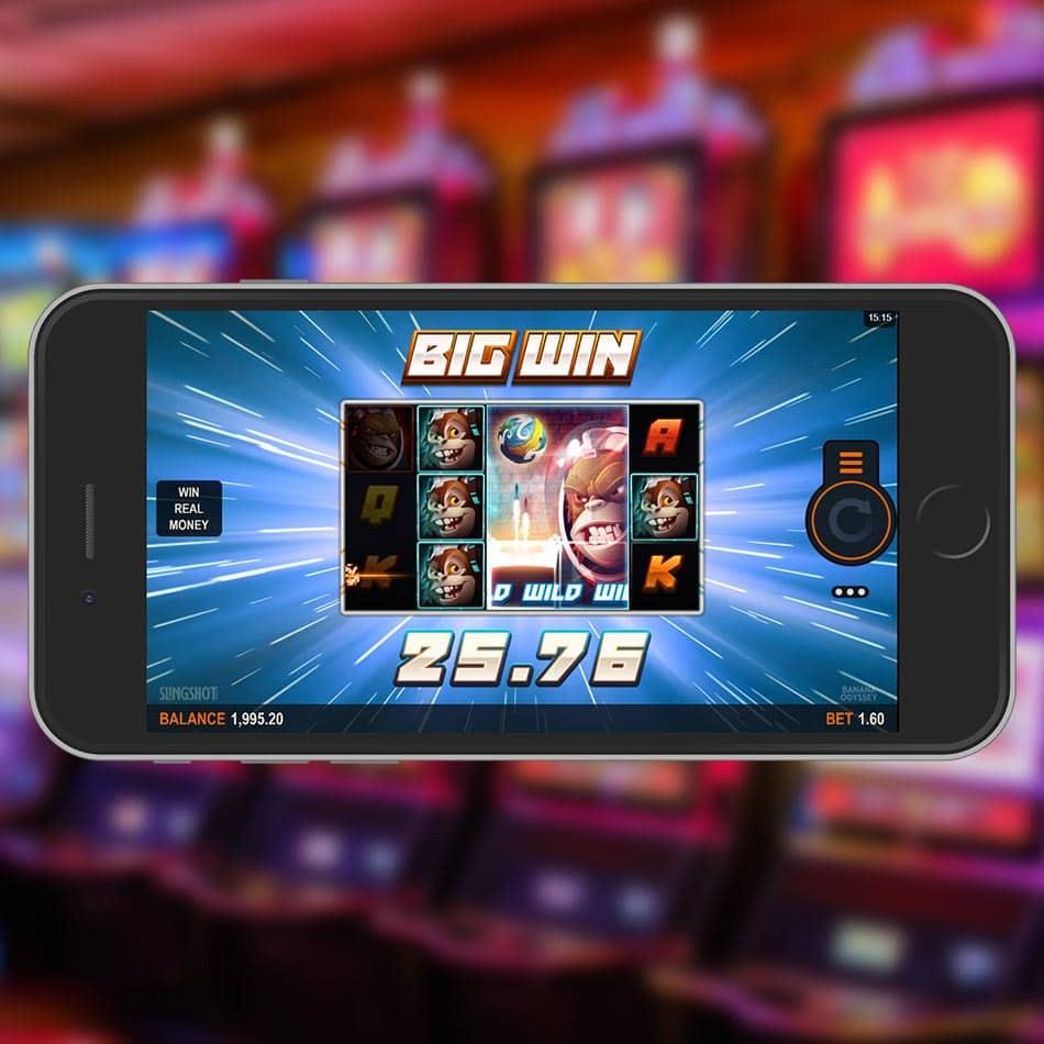 Banana Odyssey Slot Machine Big Win