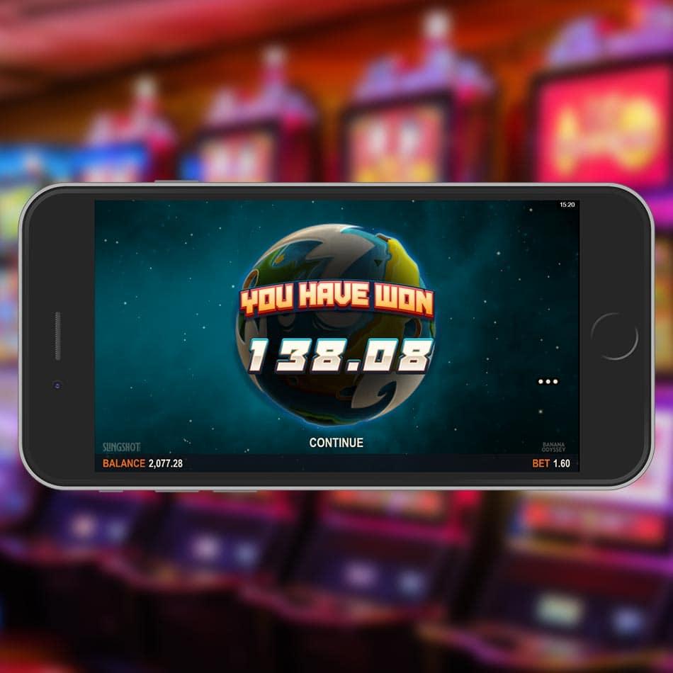 Banana Odyssey Slot Machine Free Spins Total Win