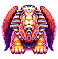 Beat the Beast: Mighty Sphinx Slot Machine Main Character