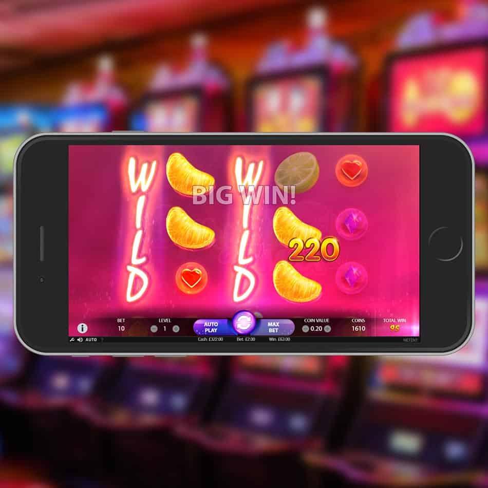 Berryburst Max Slot Machine Big Win