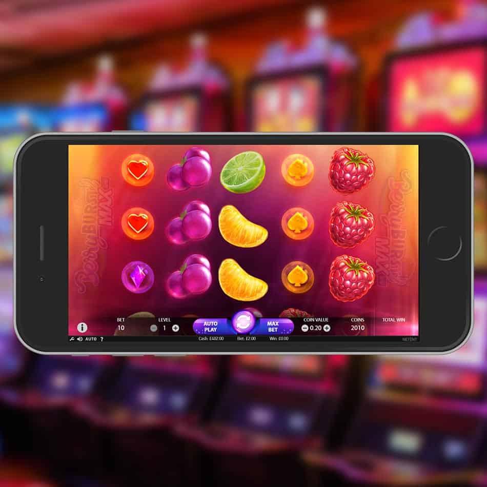 BerryBurst Max Slot Machine