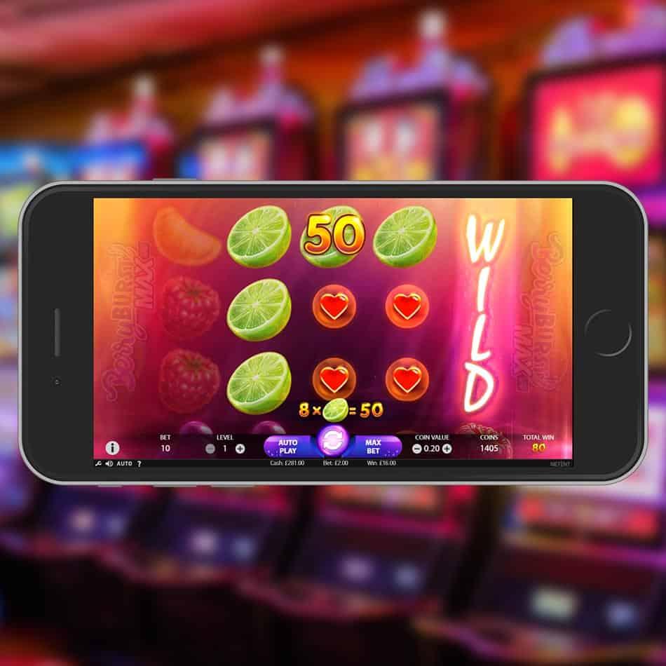 Berryburst Max Slot Machine Wild Win