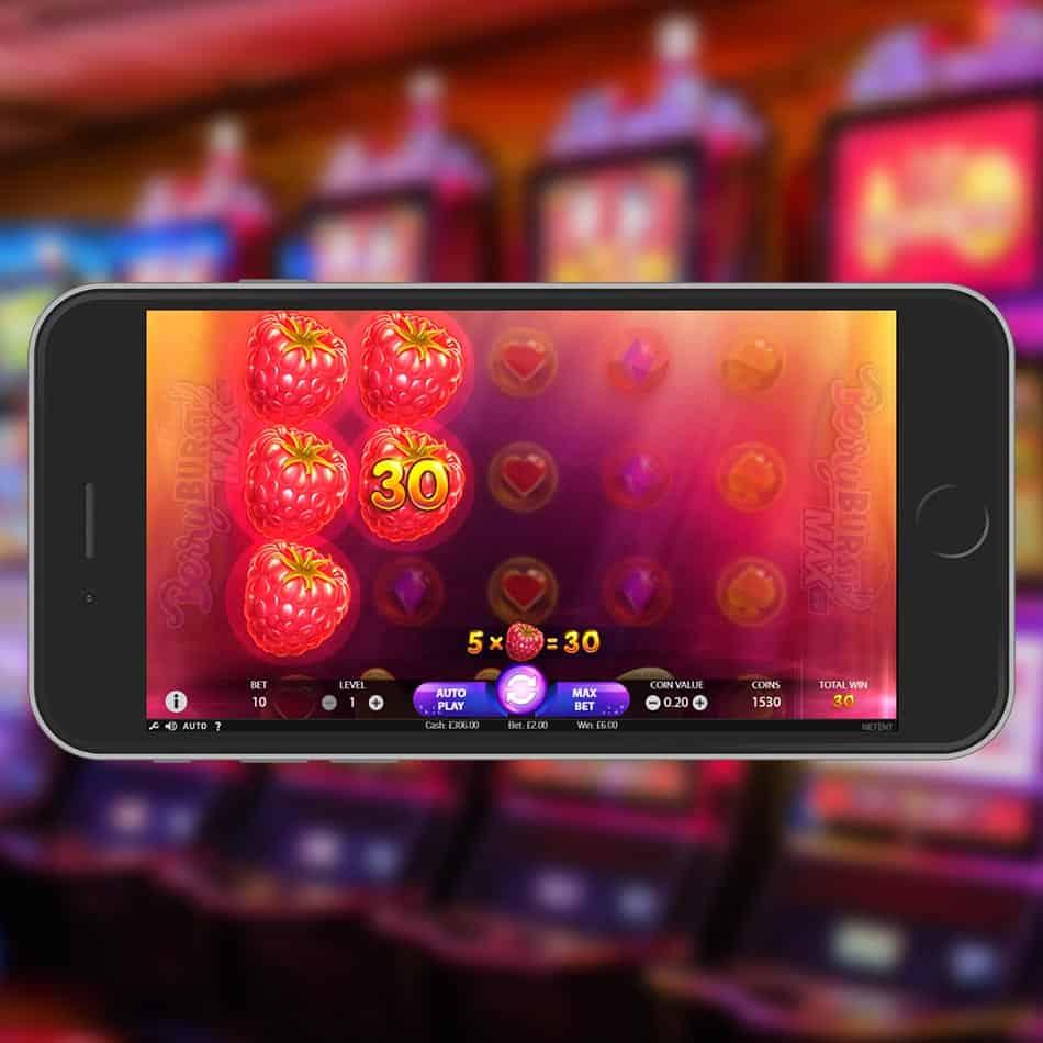 Berryburst Max Slot Machine Win