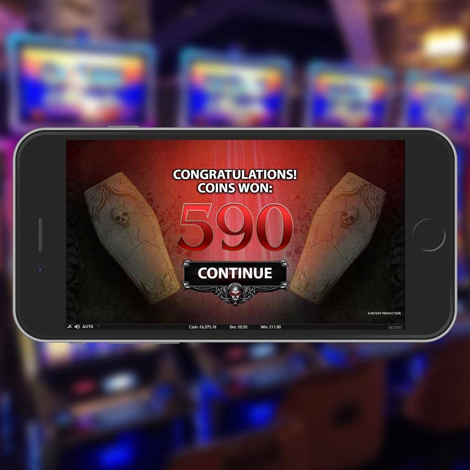 Blood Suckers Slot Machine Bonus Game Win