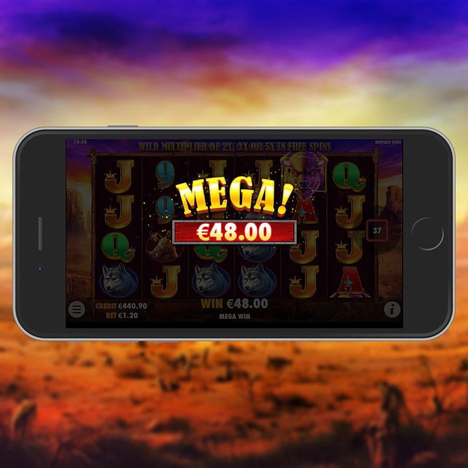 Buffalo King Slot Machine