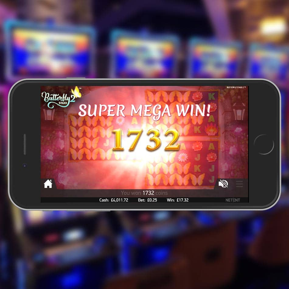 Butterfly Staxx 2™ Slot Machine Super Mega Win