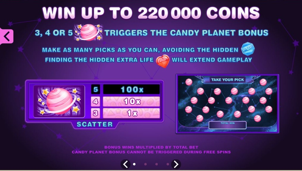 scatter symbol candy dreams slot