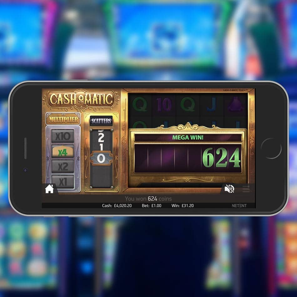 Cash-O-Matic Slot Machine Mega Win