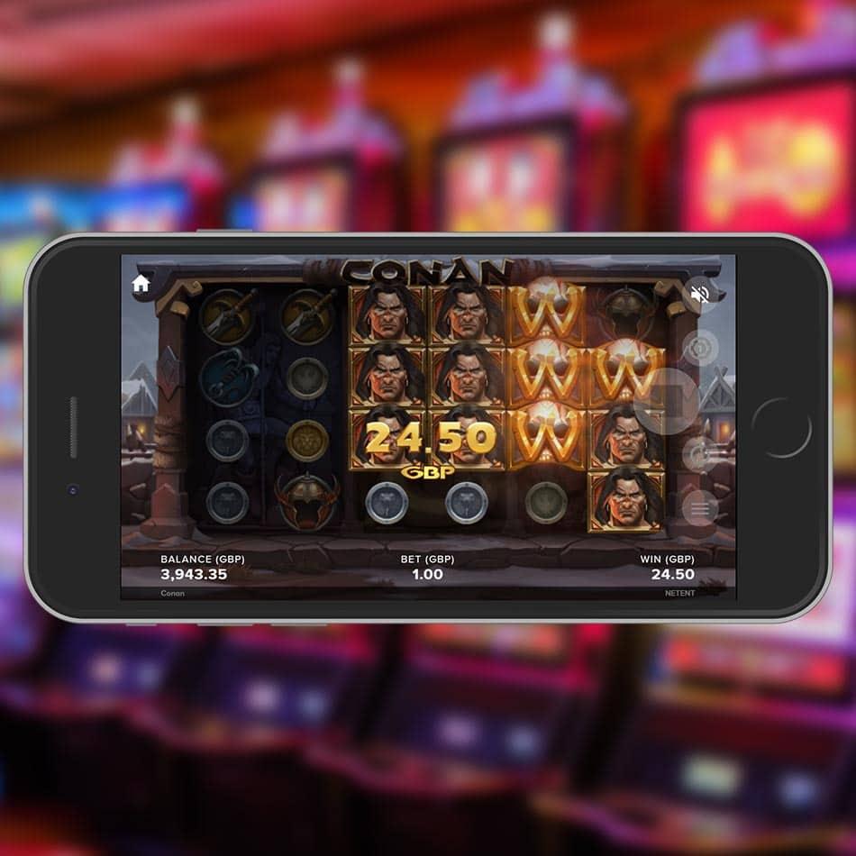 Conan Slot Machine Big Win