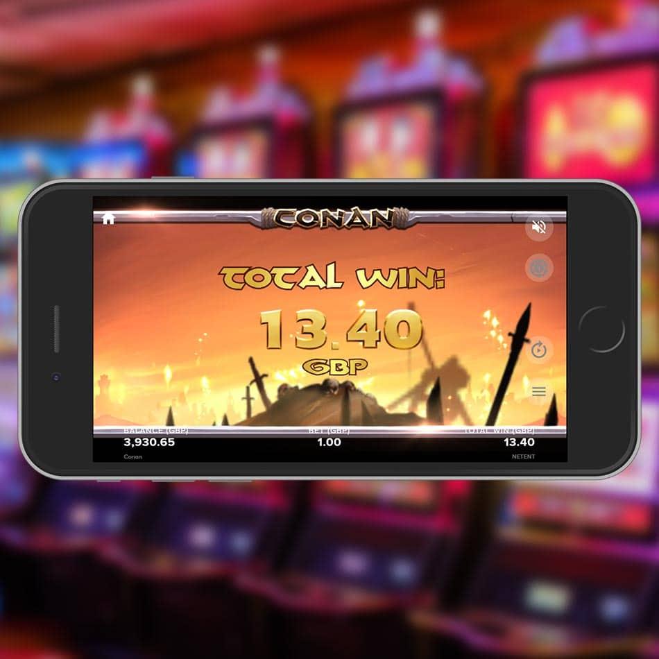 Conan Slot Machine Free Spins Total Win