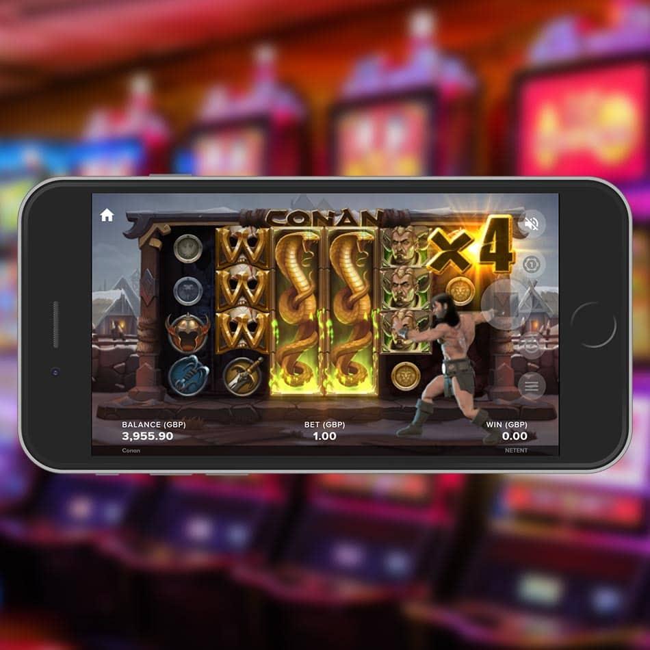 Conan Slot Machine Multiplier Feature