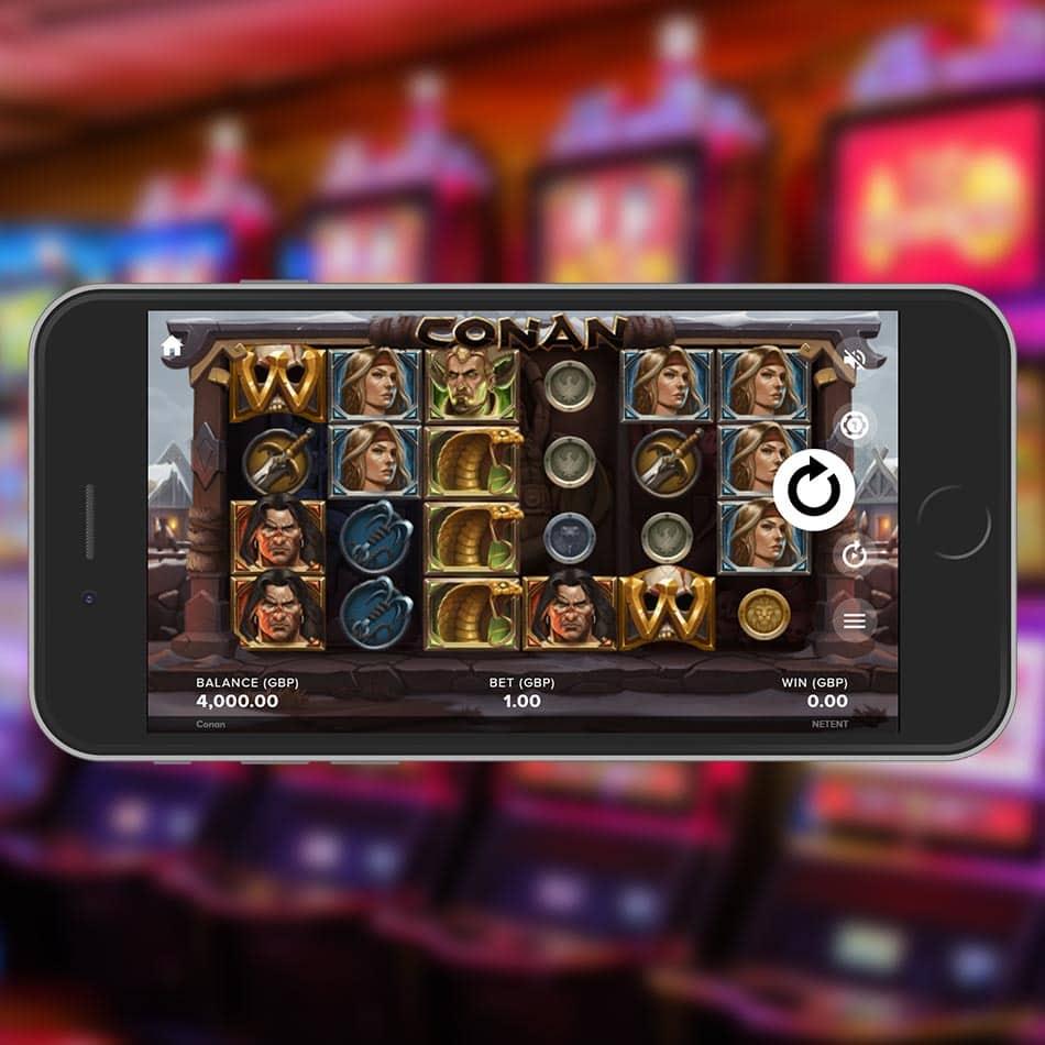 Conan Slot Machine Review