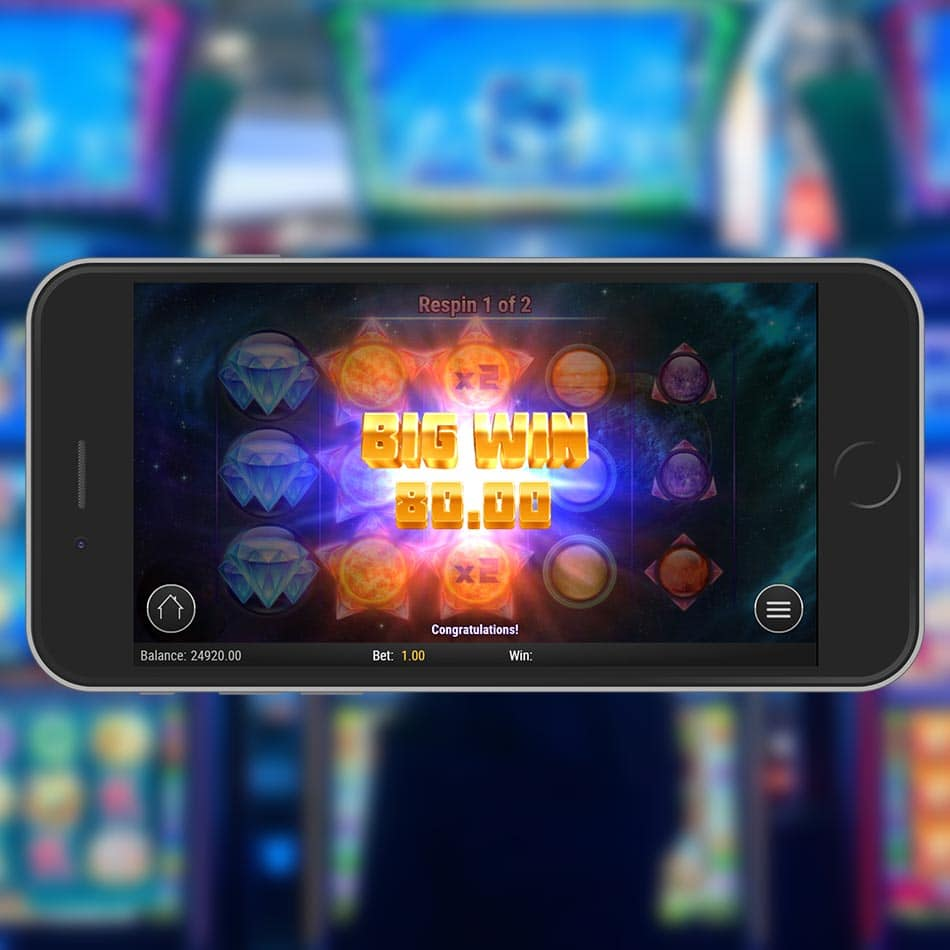 Crystal Sun Slot Machine Big Win