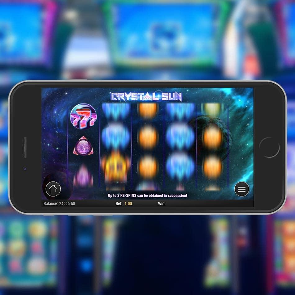Crystal Sun Slot Machine Free Play