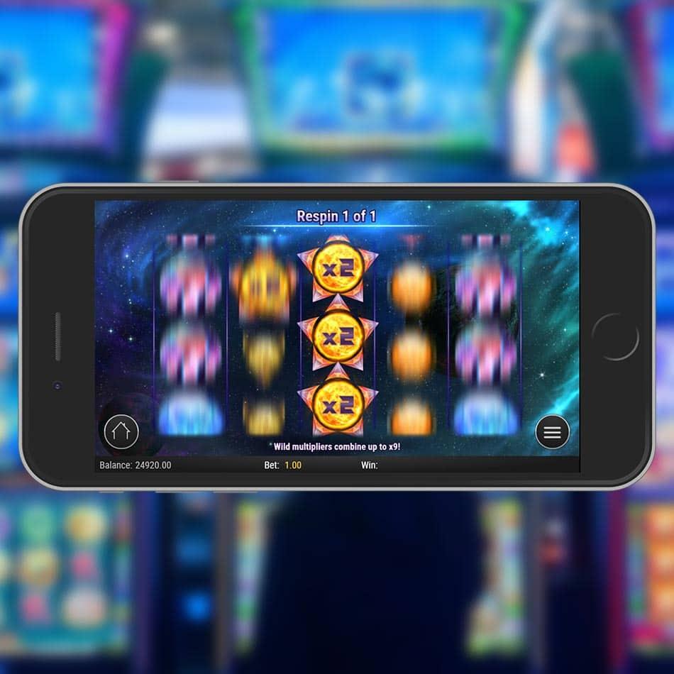 Crystal Sun Slot Machine Multiplier Feature