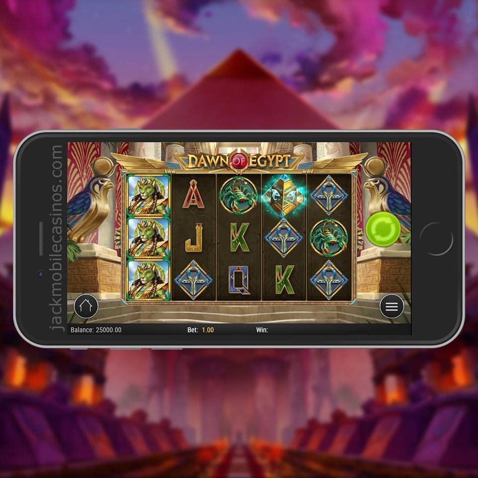 Dawn of Egypt Slot Machine