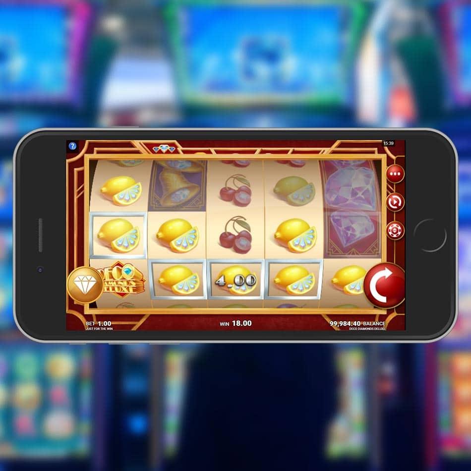 Slot Machine Deluxe Game