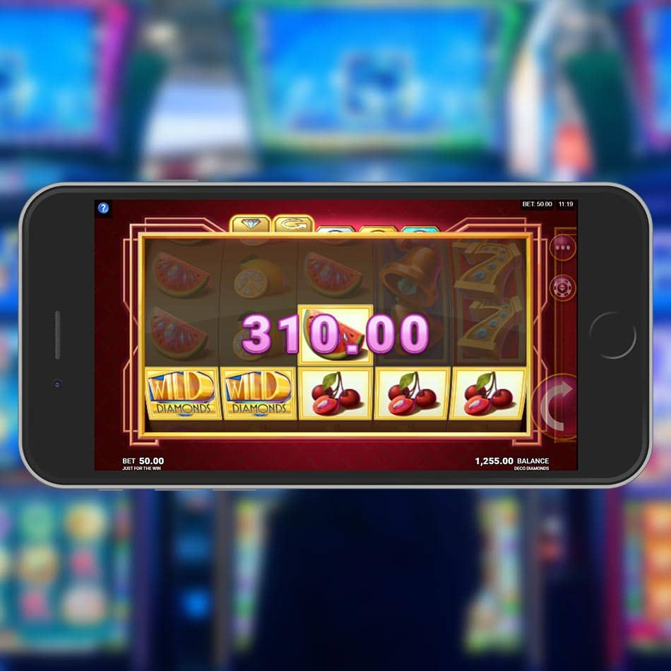 Deco Diamonds Slot Machine Big Win