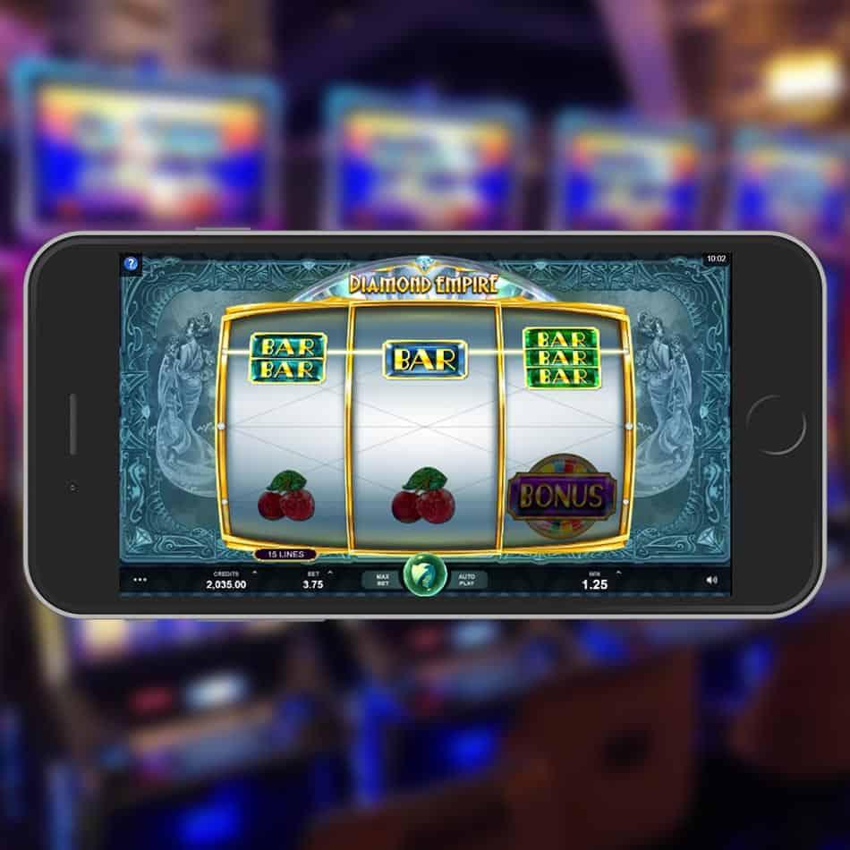 Diamond Empire Slot Machine Win