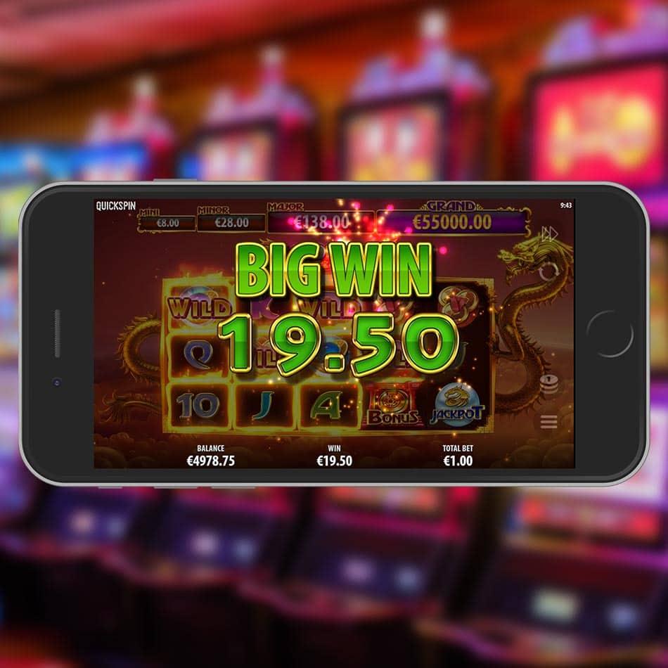 Dragon Chase Slot Machine Big Win