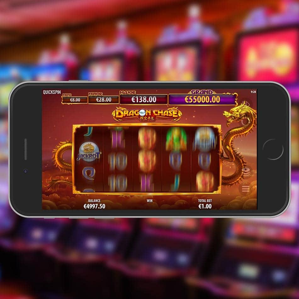 Dragon Chase Slot Machine Free Play