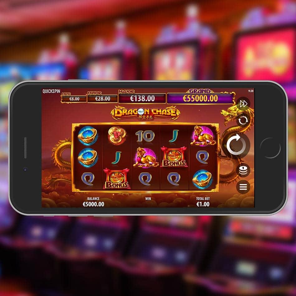 Dragon Chase Slot Machine Review