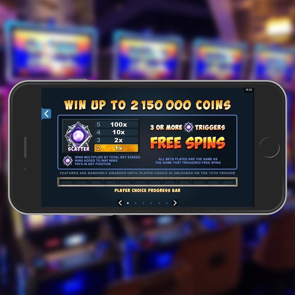 Dragonz Slot Machine Free Spins Feature
