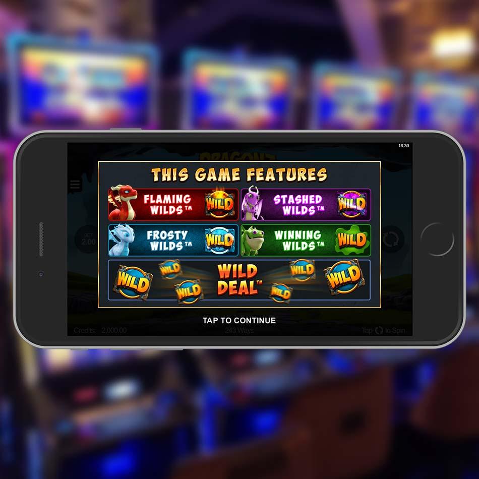 Dragonz Slot Machine Paytable