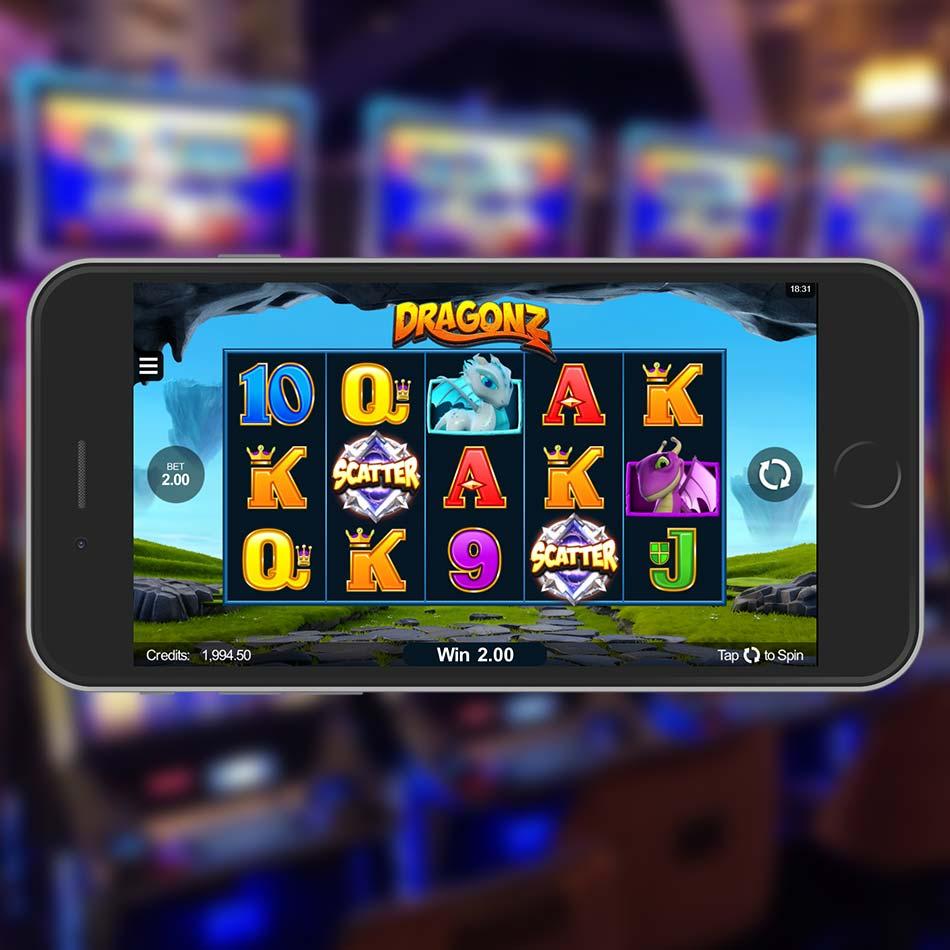 Dragonz Slot Machine Scatter
