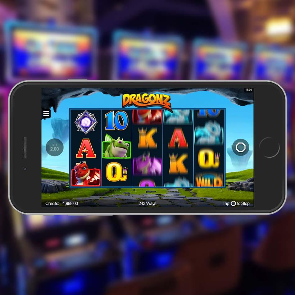 Dragonz Slot Machine Spinning Phase