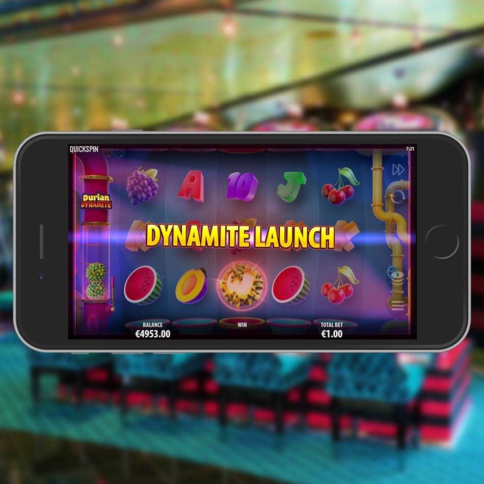 Durian Dynamite Slot Machine Dynamite Launch Feature