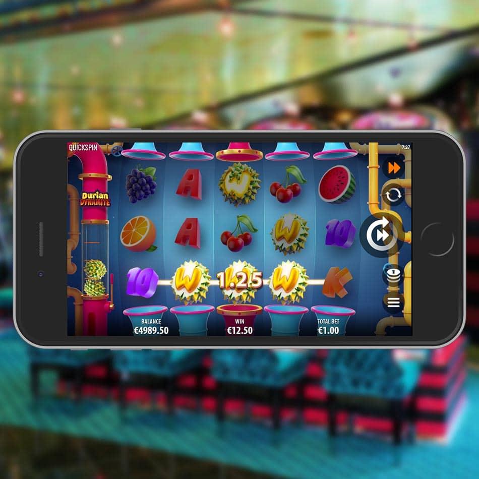 Durian Dynamite Slot Machine Win