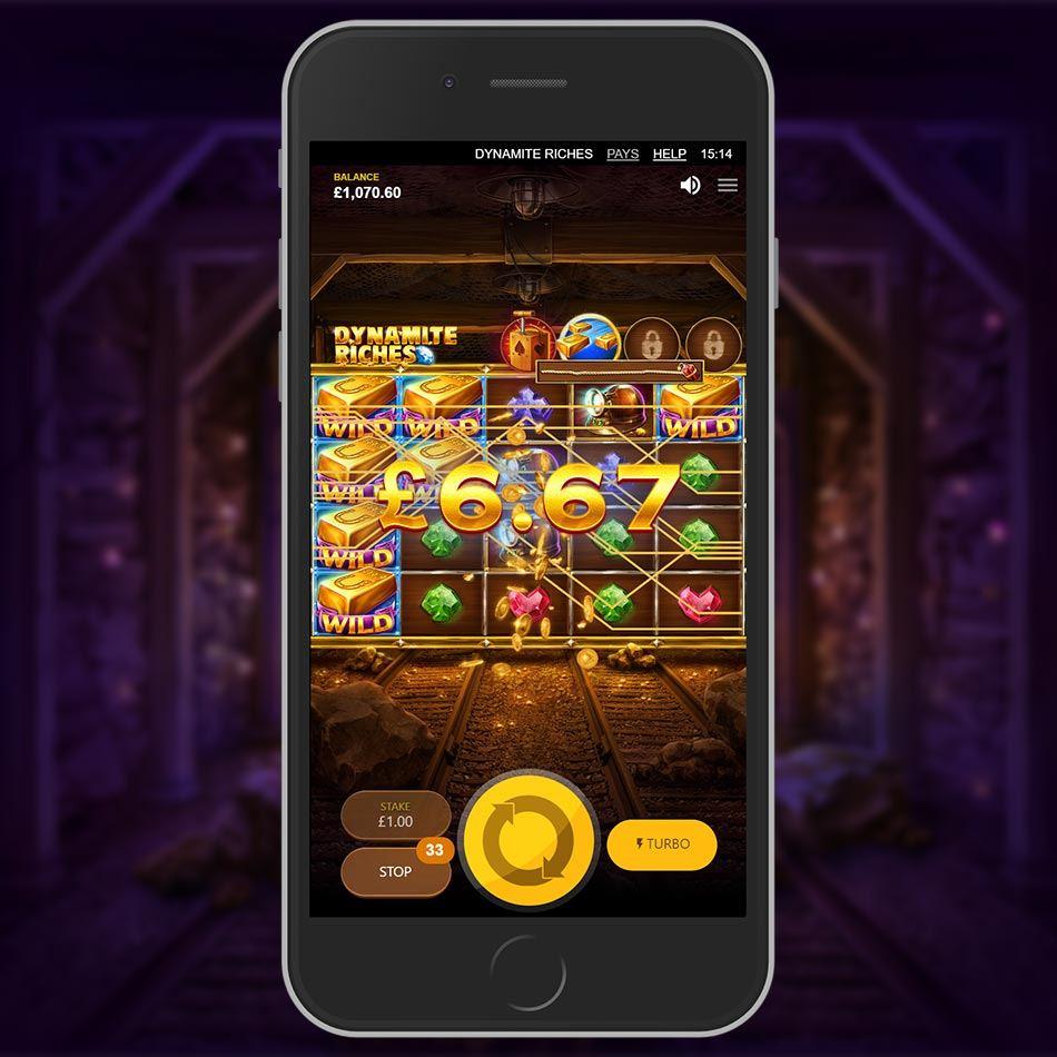 Dynamite Riches Slot Machine
