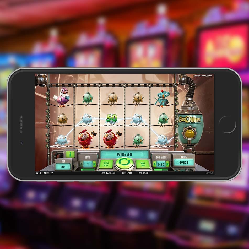 Eggomatic Slot Machine Win