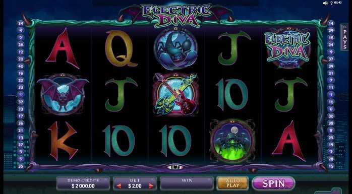 Spiele Electric Diva - Video Slots Online